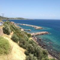 5/19/2013 tarihinde Hakan T.ziyaretçi tarafından Assos Antik Liman'de çekilen fotoğraf