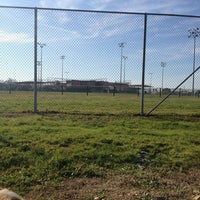 Photo taken at Freedom Park - DF Softball by Brittany K. on 2/10/2013