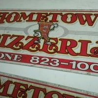 Photo taken at Hometown Pizzeria by Heather H. on 2/25/2013