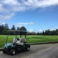 Photo taken at Allendale Country Club by Aaron A. on 7/28/2014
