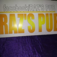 Photo taken at raz's pub by Marinutza M. on 6/1/2013