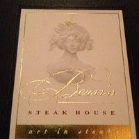 Photo taken at Bern's Steak House by Rafael G. on 10/14/2012