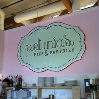 Photo taken at Petunia's Pies & Pastries by Lily B. on 3/17/2013
