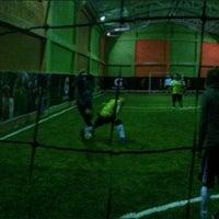 Photo taken at Planeta Gol Club by Carlos Eduardo M. on 2/14/2013