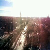 Photo taken at Radisson Blu Latvija Conference & SPA Hotel by Diāna E. on 2/27/2013