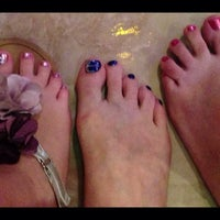 Photo taken at elite spa and nails by Dee H. on 7/5/2013