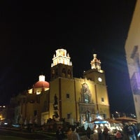 Photo taken at Basílica Colegiata de Nuestra Señora de Guanajuato by Lydia D. on 2/13/2013