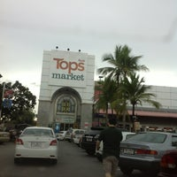 Photo taken at Tops Market by thummanoon k. on 6/22/2013