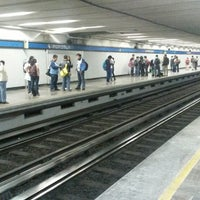 Photo taken at Metro Popotla (Línea 2) by Alberto D. on 3/6/2014