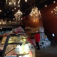 Photo taken at Amphora Bakery by Charlotte M. on 3/1/2014