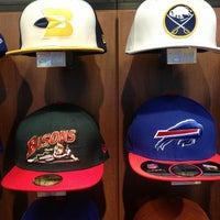 Photo taken at New Era Flagship Store: Buffalo by john B. on 5/25/2013