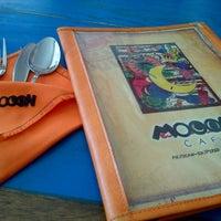 Photo taken at Mooon Cafe by Aaaaa B. on 6/16/2013