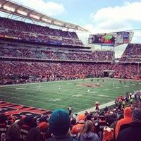 Photo taken at Paul Brown Stadium by Kent C. on 10/7/2012