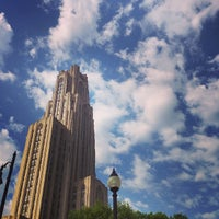 Photo taken at Cathedral of Learning by Iana V. on 5/15/2013