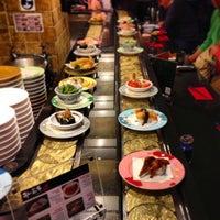 Photo taken at Sushi Hiroba by Tiago T. on 5/12/2013