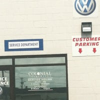 Photo taken at Colonial Volkswagen by Just me on 4/19/2013