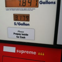 Photo taken at Budget Gas by Just me on 1/26/2014