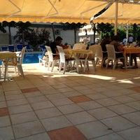 Photo taken at İntermar Hotel Havuz by Ünal S. on 7/4/2013