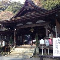 Photo taken at 岩間寺 (岩間山 正法寺) by Tetsuya Y. on 1/11/2014