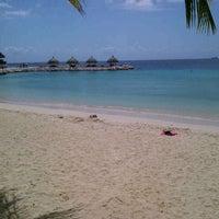 "Photo taken at ""Playa miramar"" by Andres L. on 2/10/2013"