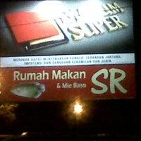 Photo taken at Rumah Makan & Mie Baso SR by Rachmat Farhan B. on 4/27/2013