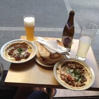 Photo taken at Hummus Bar by Igor F. on 8/9/2014