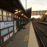 Photo taken at LIRR - Sayville Station by Brian M. on 6/13/2013