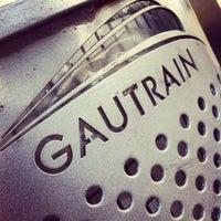 Photo taken at Gautrain Rosebank Station by SJ W. on 2/11/2013