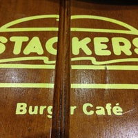 Photo taken at Stackers Burger Café by Bong D. on 7/16/2013