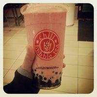Photo taken at Chill Bubble Tea by Kay H. on 10/22/2012