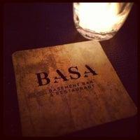 Photo taken at BASA - Basement Bar & Restaurant by Paige N. on 4/11/2013