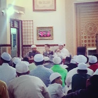 Photo taken at Masjid Al-Ridhuan by Jomey A. on 6/29/2013