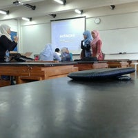 Photo taken at Ruang 210 T.sipil UGM by Irfan F. on 2/13/2013
