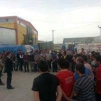 Photo taken at Ucyildiz Textile Warehouse by Emre Gökhan K. on 3/28/2014