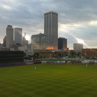 Photo taken at ONEOK Field by Michael D. B. on 4/23/2013