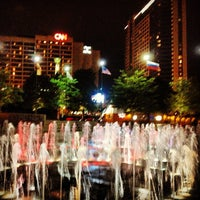 Photo taken at Centennial Olympic Park by Jim B. on 10/15/2013