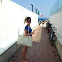 Photo taken at Bagni Arcobaleno by Giacumein F. on 7/21/2013