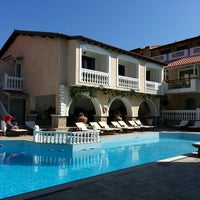 Photo taken at Ino Village Hotel Samos by A.Buğra T. on 6/16/2013