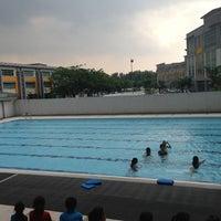 Photo taken at Sri KDU Swimming Pool by Carmen M. on 3/14/2013