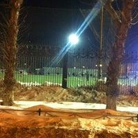 "Photo taken at Остановка ""Центральный Стадион"" by Кристина В. on 2/17/2013"