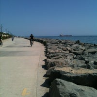 Photo taken at Florya Sahili by Meral F. on 5/18/2013