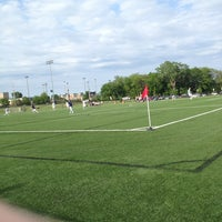 Photo taken at Overland Park Soccer Complex by Dustin B. on 5/24/2013