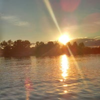 Photo taken at Lake Minnewaska by Courtney on 7/25/2013