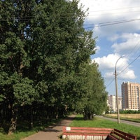 Photo taken at Пущино by Ольга Е. on 8/10/2013
