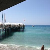 Photo taken at Utopia World Beach by [EbruHmn] . on 8/20/2013