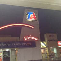 Photo taken at TravelCenters of America by Daryl W. on 3/24/2013