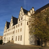 Photo taken at Schloss Leitzkau by Andreas on 11/2/2014