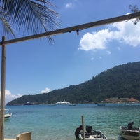Photo taken at Watercolours Resort & Dive Centre by Mia Z. on 5/10/2016