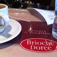 Photo taken at Brioche Dorée by Majda B. on 5/2/2013