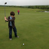Photo taken at Honey Brook Golf Club by Jeff T. on 5/19/2013